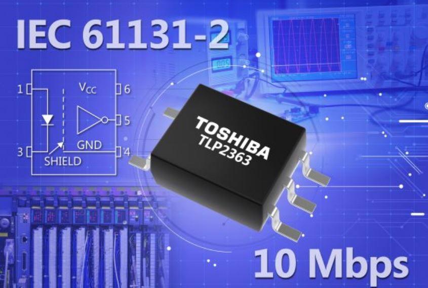 Photocoupleur à sortie logique 10 Mbits/s pour automates programmables | Toshiba