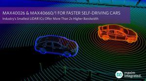CI pour module LiDAR à bande passante élargie | Maxim