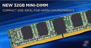 Mini-DIMM industrielles extra plates 32 Go | Smart Modular
