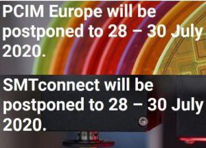 PCIM Europe et SMTconnect reportés à Nuremberg du 28 au 30 juillet