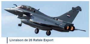 Dassault compte livrer 13 Rafale et 40 Falcon en 2020
