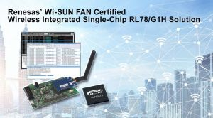 Solution monopuce sans fil intégrée compatible Wi-SUN FAN | Renesas