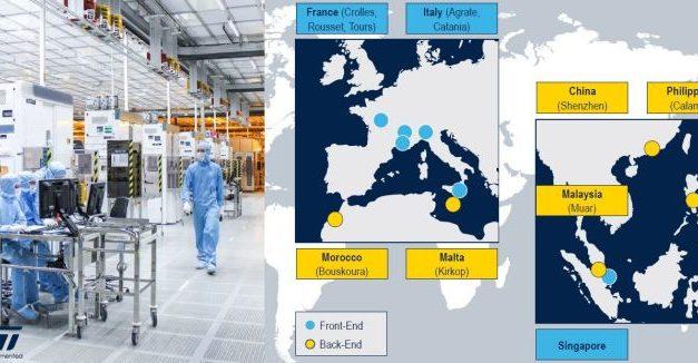 Les usines de ST en France pourront tourner avec 50% de leur effectif