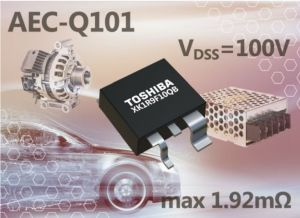 MOSFET canal-N 100 V pour applications automobiles | Toshiba
