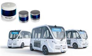 Les capteurs de Velodyne Lidar alimentent les navettes autonomes de Navya