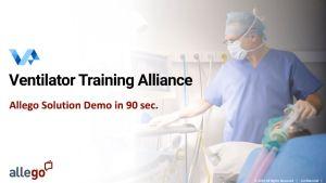 Des fabricants de respirateurs se regroupent pour former la Ventilator Training Alliance