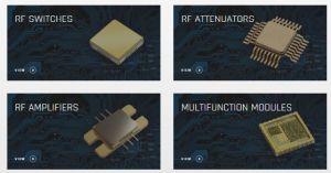 RFMW distribue les composants RF et micro-ondes de KCB