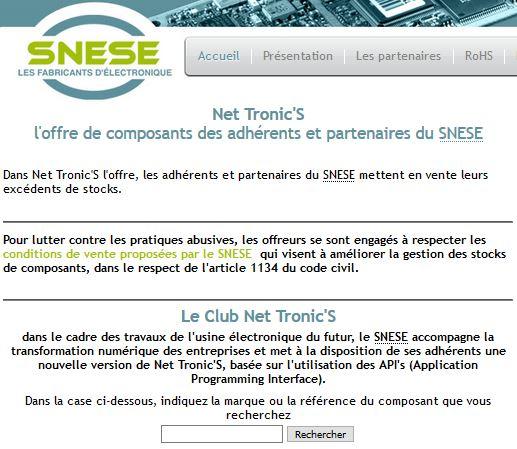 Le SNESE mobilise son outil de valorisation des stocks de composants au service de la fabrication des respirateurs