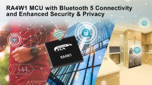Connectivité Bluetooth 5.0 pour les microcontrôleurs 32 bits de Renesas
