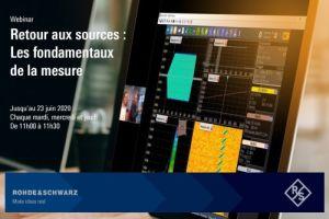Rohde & Schwarz France lance une seconde série de webinaires