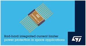 Limiteur de courant intégré programmable qualifié spatial | STMicroelectronics