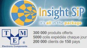 TME signe un accord de distribution international avec Insight SiP
