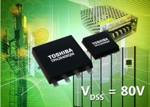 MOSFET de puissance canal-N 80 V | Toshiba