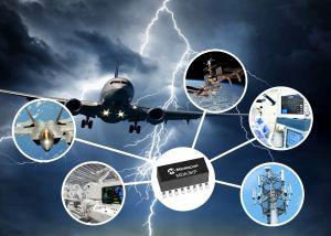 Réseaux de diodes TVS 3 kW pour la protection de circuits | Microchip