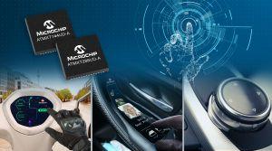 Contrôleurs d'écran tactile pour l'automobile | Microchip