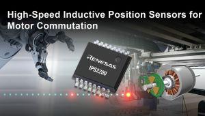 Capteur de position inductif pour pilotage de moteurs industriels | Renesas