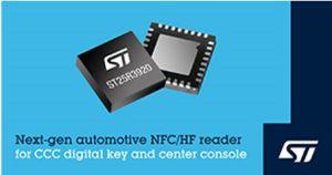 Circuit NFC pour clés de voiture numériques | STMicroelectronics