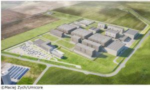 Umicore obtient un prêt de 125 M€ pour construire une usine de matériaux pour batteries en Pologne