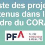 150 M€ mobilisés pour soutenir la R&D de la filière automobile à travers 27 projets