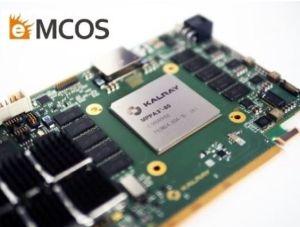 Le système d'exploitation eMCOS POSIX prend en charge le processeur Coolidge de Kalray