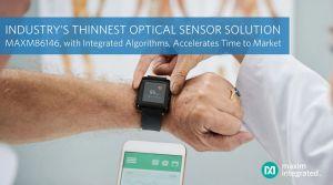 Capteur optique pour wearables de santé | Maxim