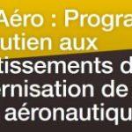 Plan de soutien aux investissements de modernisation des entreprises de la filière aéronautique
