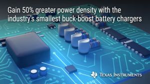 CI de chargeurs de batteries abaisseurs-élévateurs   Texas Instruments
