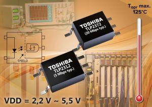 Premiers photocoupleurs pour communications haut débit fonctionnant à partir de 2,2 V | Toshiba