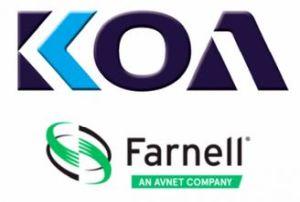 Farnell signe un accord de distribution avec KOA