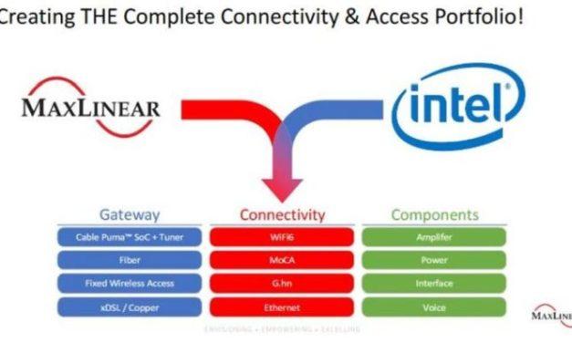 MaxLinear a finalisé le rachat de la division Home Gateway d'Intel pour 150 M$