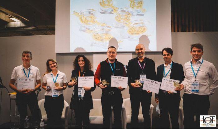 5 lauréats récompensés pour la 4e édition des IoT Awards lors du salon IoT World + MtoM