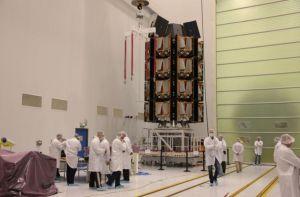 OneWeb prévoit 16 lancements de 34 à 36 satellites avec Arianespace