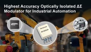 Modulateur Delta-Sigma optiquement isolé pour automatismes industriels | Renesas