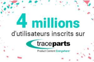 Modèles CAO : la plateforme TraceParts atteint 4 millions d'utilisateurs inscrits
