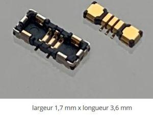 Connecteurs carte à carte miniaturisés au pas de 0,35 mm | Kyocera