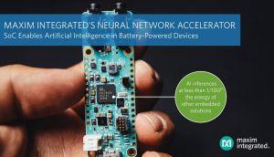 Microcontrôleur accéléré par réseau neuronal | Maxim