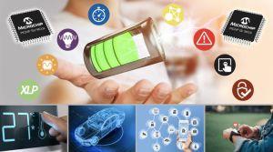 MCU avec driver d'affichage animé basse consommation | Microchip