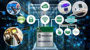 Module de microcontrôleur 32 bits Wi-Fi Trust&GO | Microchip
