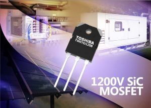 MOSFET au carbure de silicium (SiC) 1200 V | Toshiba
