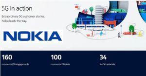 Nokia revendique 100 contrats 5G et 160 engagements commerciaux