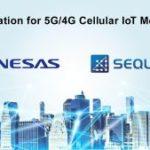 Renesas et Sequans vont collaborer sur l'IoT cellulaire 5G/4G
