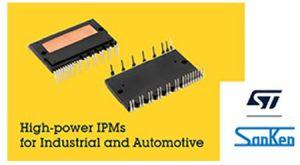 STMicroelectronics et Sanken s'allient dans les modules de puissance intelligents