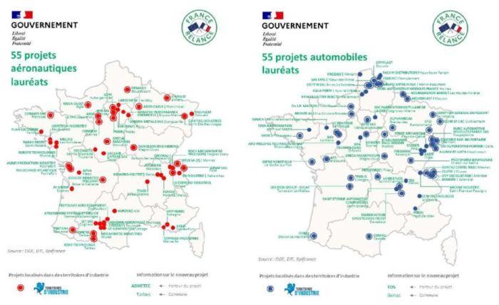 Les fonds de soutien à la modernisation des filières automobile et aéronautique passent le cap des 110 projets lauréats