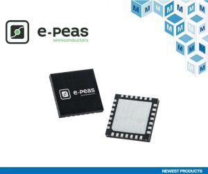 Mouser Electronics signe un accord de distribution mondial avec e-peas