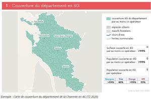 « New Deal Mobile » : 96% du territoire français est couvert en 4G