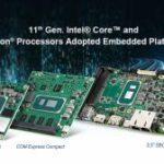 Plateformes embarquées avec processeurs Intel Core de 11e génération et Celeron | Advantech