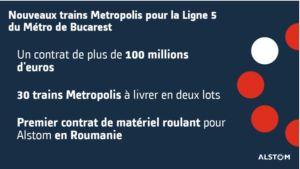 Alstom décroche un contrat de 100 à 240 M€ en Roumanie