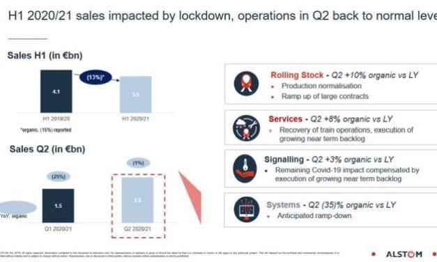 La production d'Alstom est revenue à un niveau normal au dernier trimestre