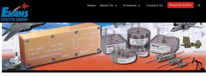 Arcline rachète Evans Capacitor pour construire un groupe de composants électroniques spécialisés