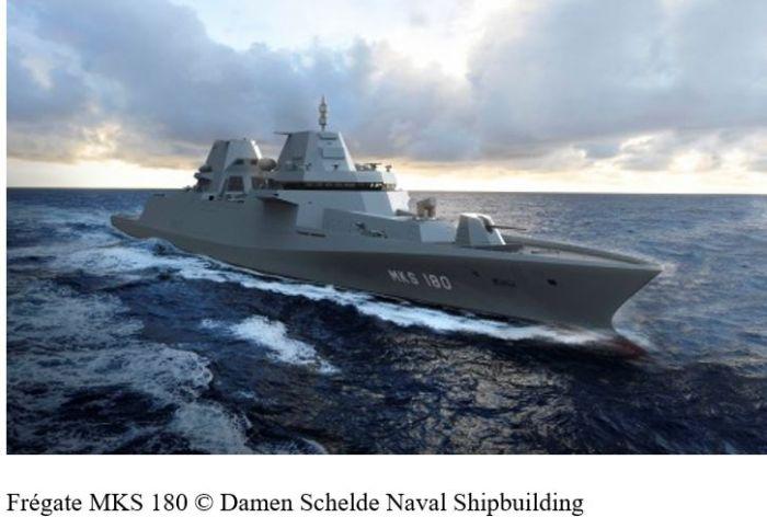 Thales va construire les frégates allemandes du futur avec Damen